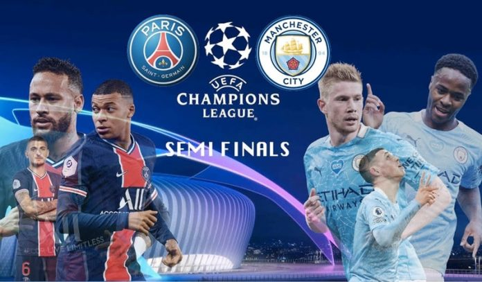 Kết quả trận đấu PSG và Man City trong khuôn khổ bán kết Cúp C1 Châu Âu